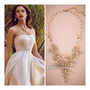 BHLDN Jardin Ciosa Wedding Bridal Necklace Pearl